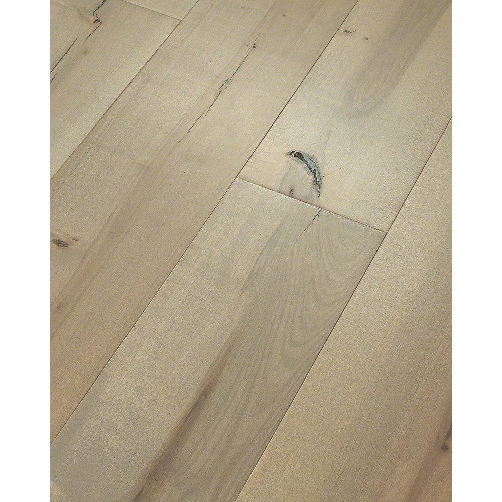 Take Home Sample  Grand Central Maple Park Avenue Water Resist Engineered Hardwood Flooring  7 in. x 8 in.