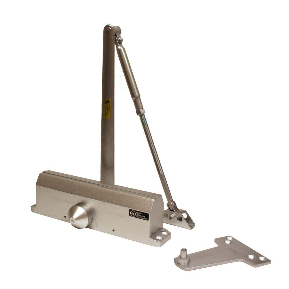 Universal Hardware Medium-Duty Aluminum Commercial Door Closer  sc 1 st  The Home Depot : door clouser - pezcame.com