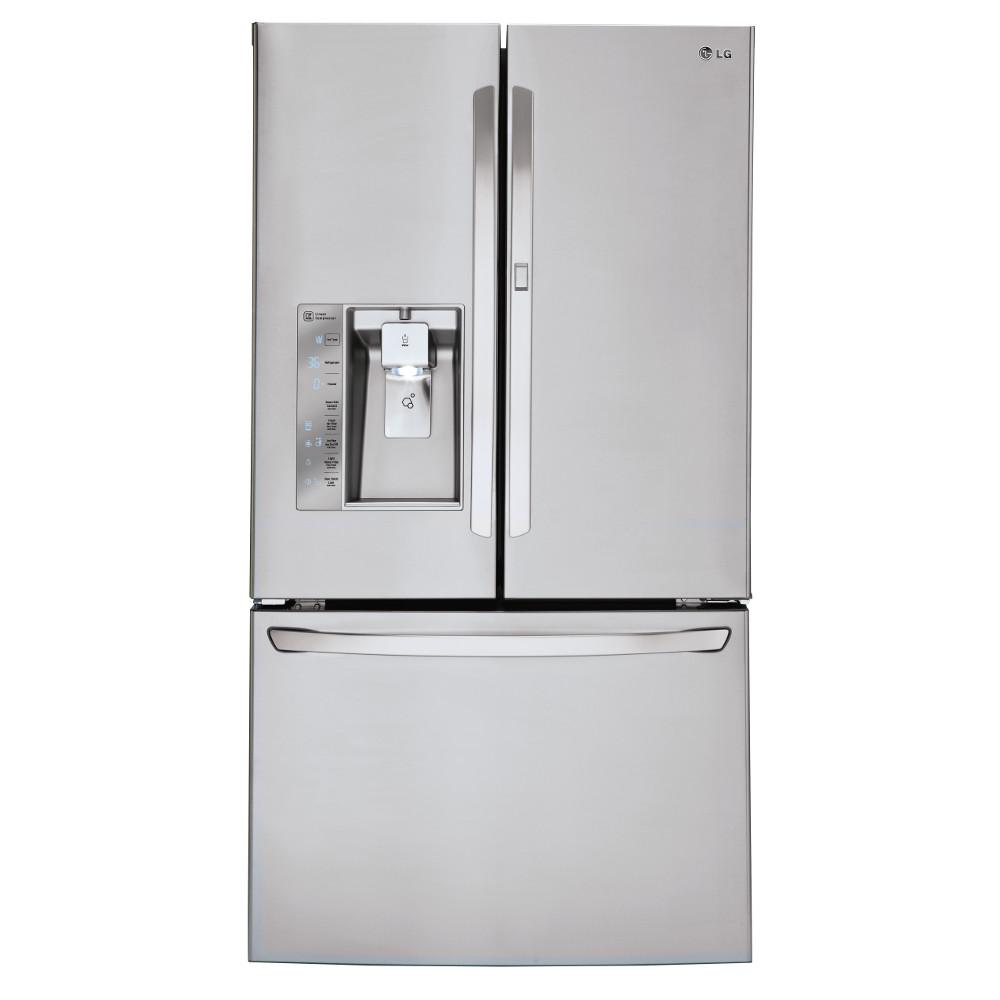 Nice French Door Smart Refrigerator With Door In
