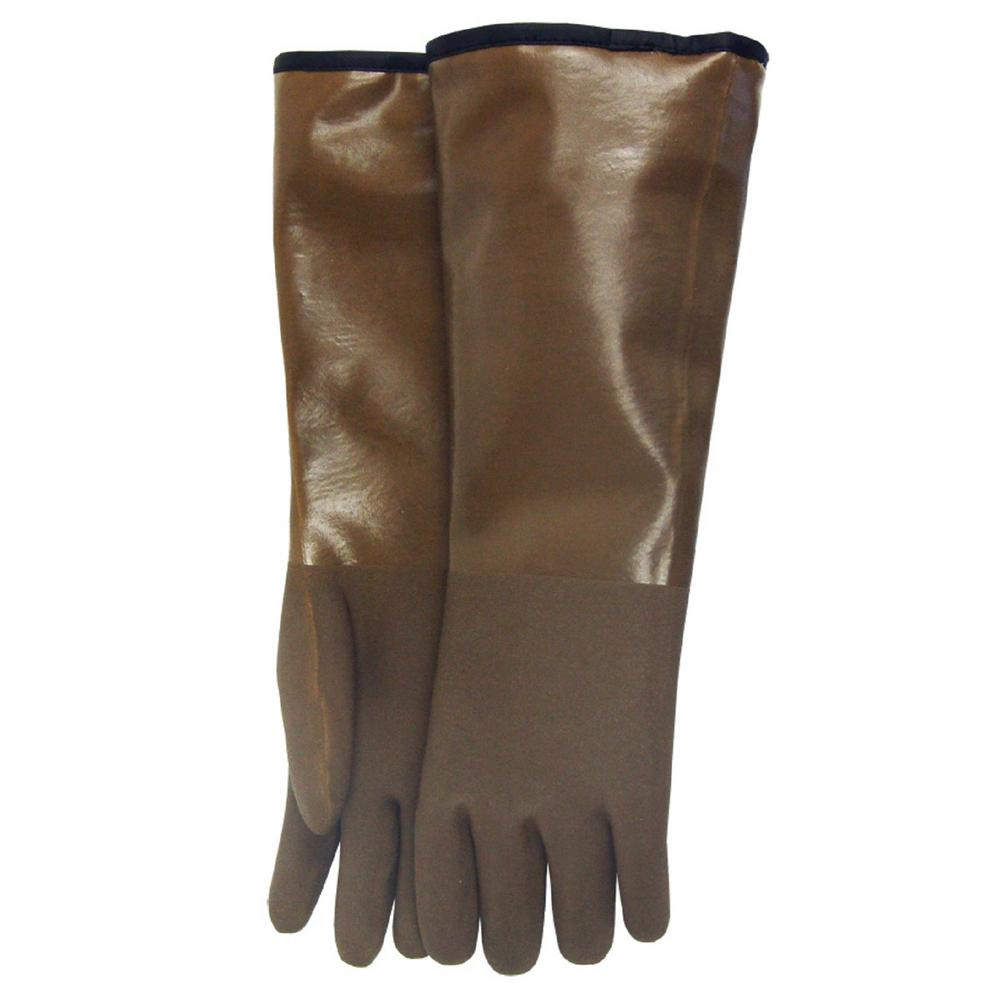 Midwest Quality Gloves Brown Decoy Glove-330-EA-00 - The Home Depot