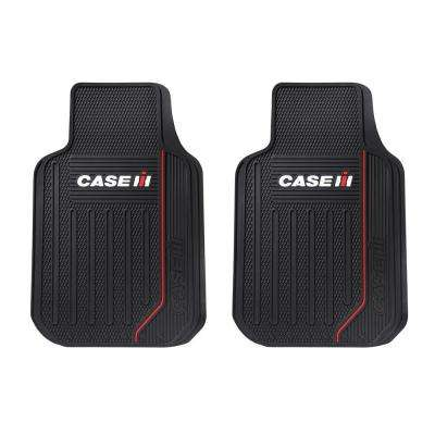 International Harvester Case IH Heavy Duty 2-Piece 27 in. x 18 in. Vinyl Car Mats