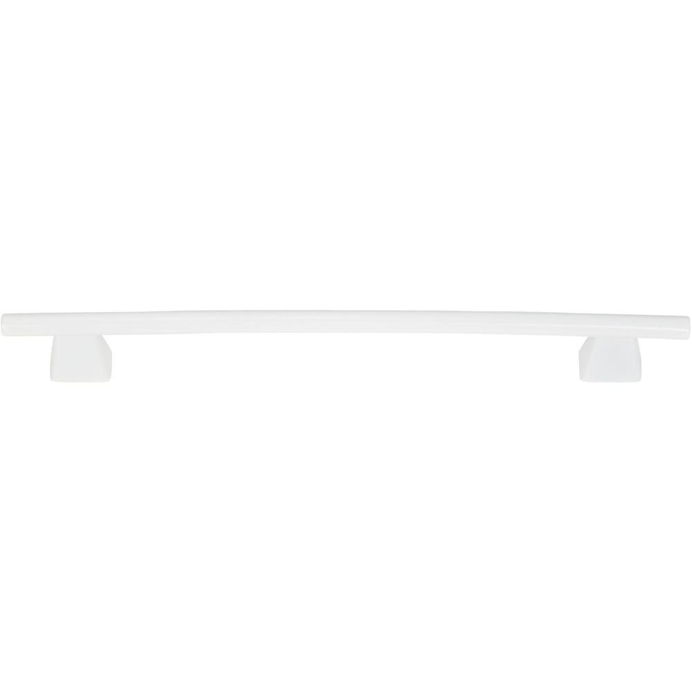 Atlas Homewares Fulcrum 63 In White Gloss Mega Cabinet