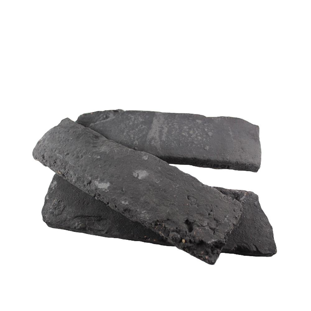 Old Chicago Charcoal 10.76 sq. ft. Flats 0.65 in. x 8.20
