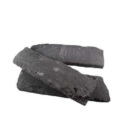 Old Chicago Charcoal 8.20 in. x 2.50 in. Thin Brick 10.76 sq. ft. Flats Manufactured Stone Siding