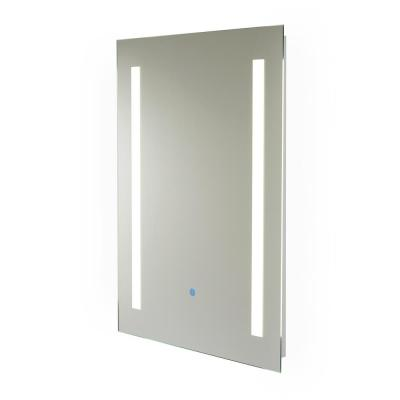 Capri 31.5 in. x 23.5 in. Hardwired LED Illuminated Backlit Mirror
