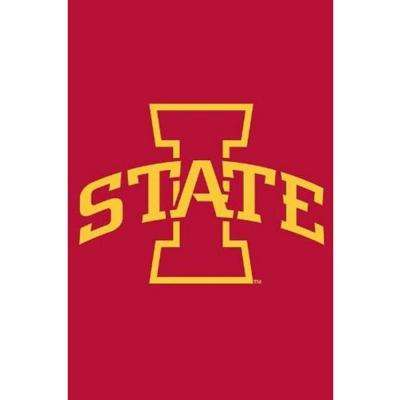 NCAA 12-1/2 in. x 18 in. Iowa State 2-Sided Garden Flag