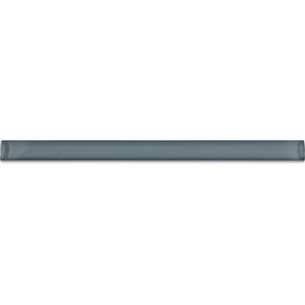 Splashback Tile Gray Blue 3 4 In X 6 Gl Pencil Liner