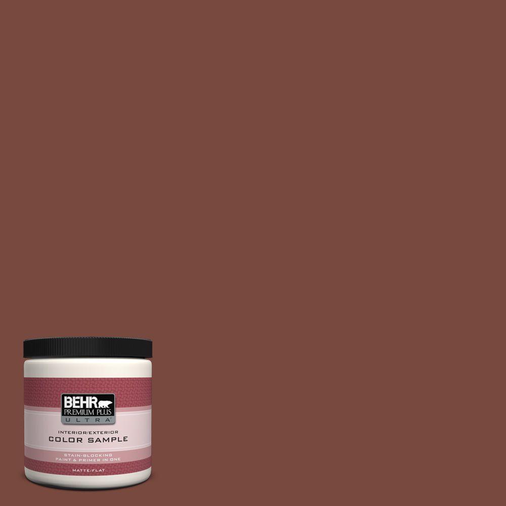 BEHR Premium Plus Ultra 8 oz. #200F-7 Wine Barrel Interior/Exterior Paint Sample