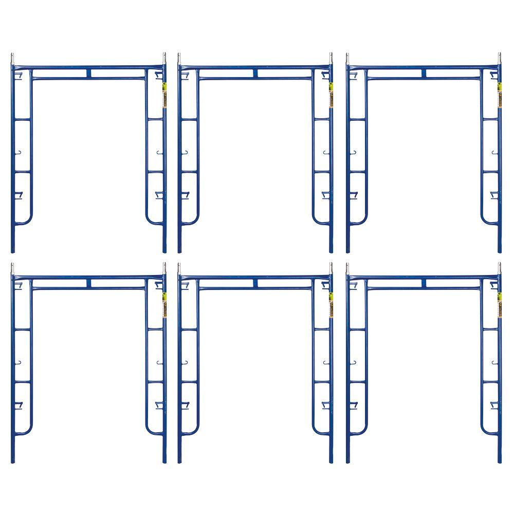 MetalTech Saferstack 6.4 ft. x 5 ft. Mason Walk-Through Arch ...