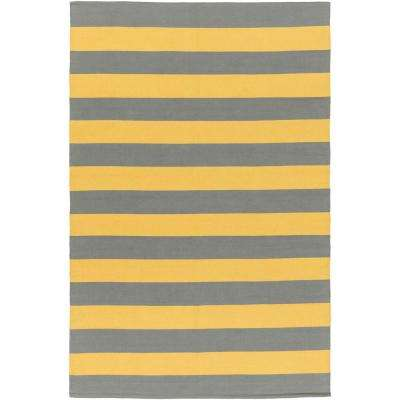 Popular 8 X 10 - Yellow - Area Rugs - Rugs - The Home Depot PE39