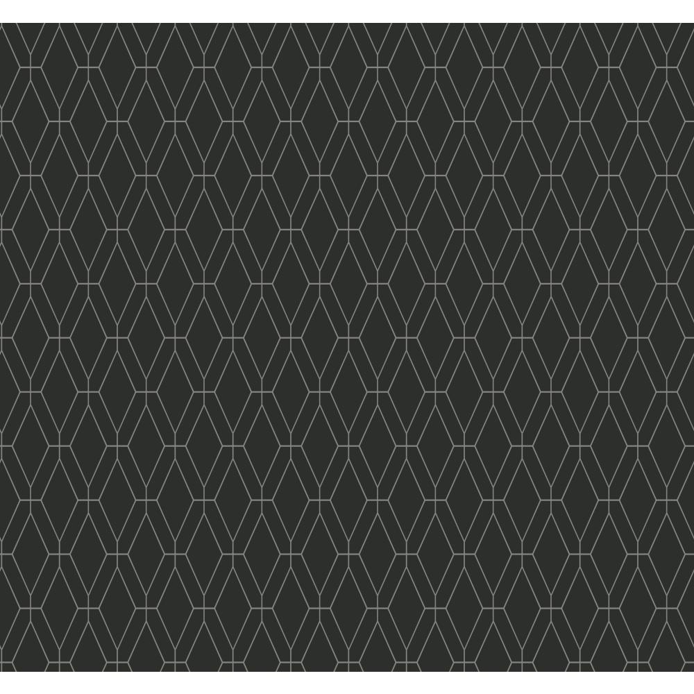 Ashford Geometrics Diamond Lattice Wallpaper
