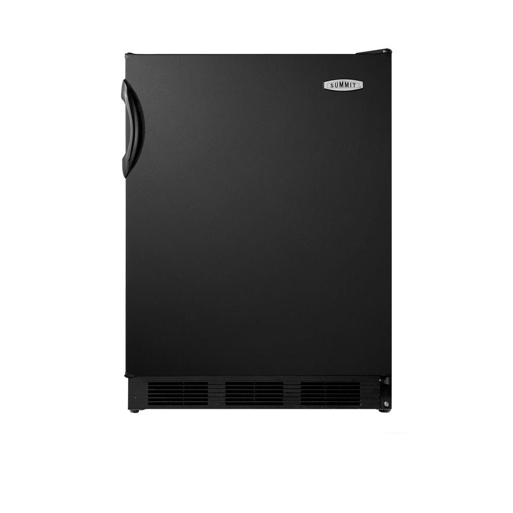 Summit Appliance 5.5 cu. ft. Mini Refrigerator in Black
