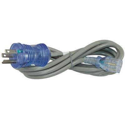 10 ft. 18/3 10 Amp Hospital/Medical Grade Green Dot Power Cord NEMA 5-15P to IEC C13 (IT/CPU/Server End)