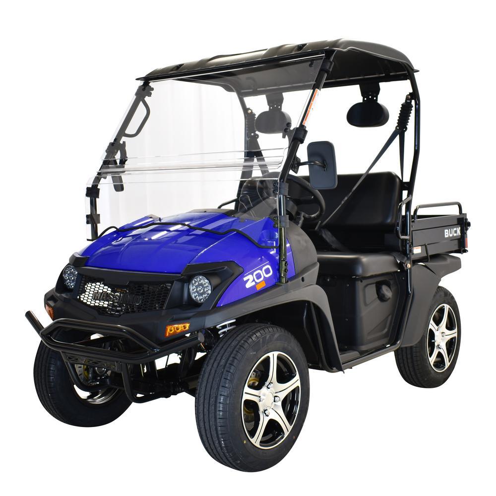 2WD 177 cc EFI UTV in Blue