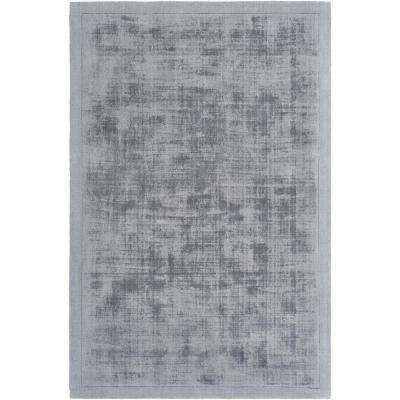 Silk Route Rainey Charcoal 4 ft. x 6 ft. Indoor Area Rug