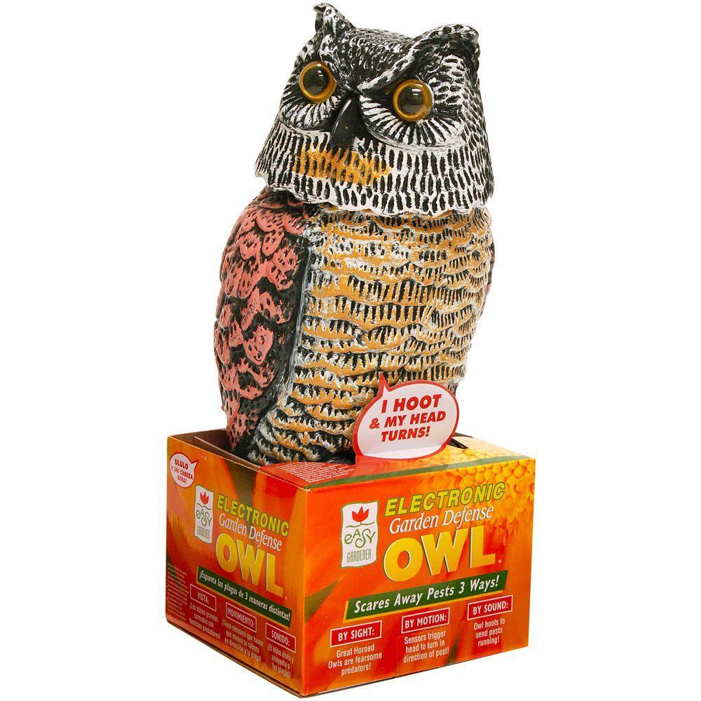 Easy Gardener Garden Defense Electronic Owl