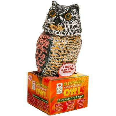 Garden Defense Electronic Owl