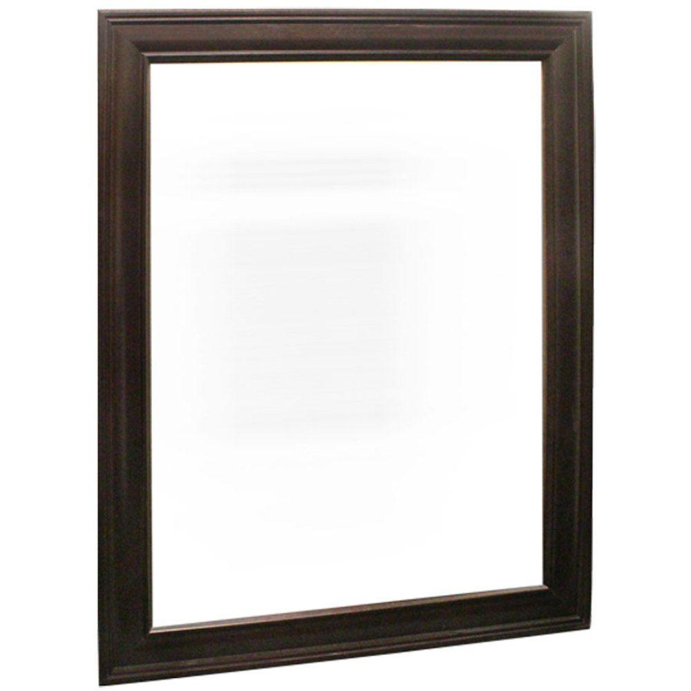 mirror 18 x 24. home decorators collection grafton 18 in. x 24 framed vanity mirror in crimson
