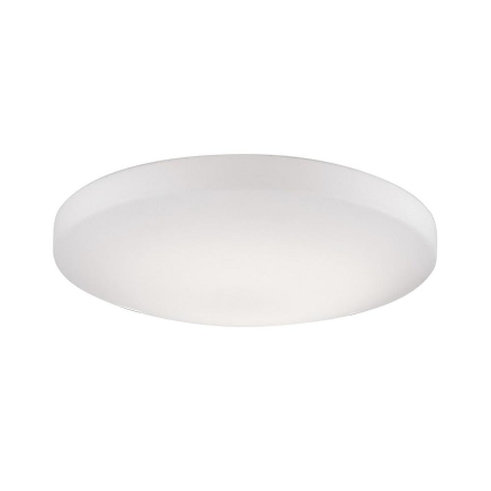 Melissa 60-Watt Equivalence White Integrated LED Ceiling Flushmount