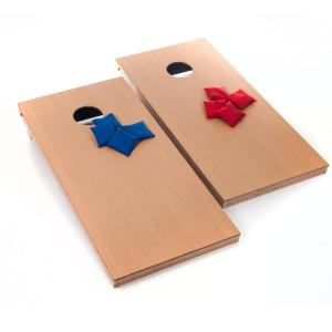 Trademark Games Official Size Wood Cornhole Game Set by Trademark Games