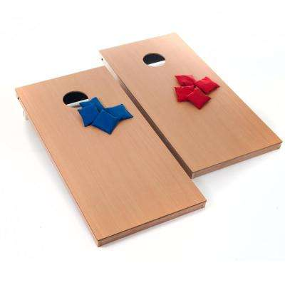 Official Size Wood Cornhole Game Set