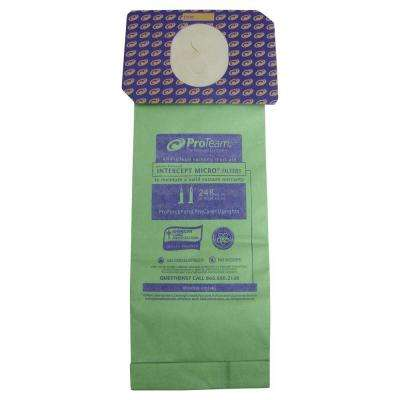 Intercept Micro Filter for ProTeam ProForce and ProCare Upright Vacs (10-Pack)