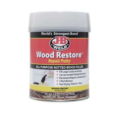 J-B Weld Wood Restore Repair Filler Putty - 25.6 oz. (Case of 3)