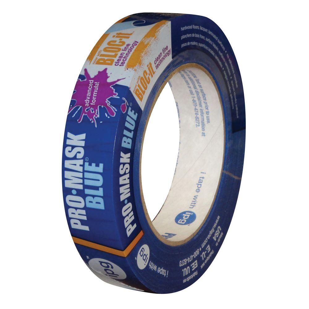 0.94 in. x 60 yds. ProMask Blue Painter's Tape with Bloc