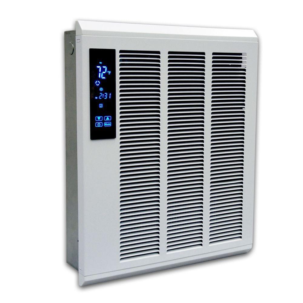 Smart Series 19 in. x 15-3/4 in. 4000-Watt High Output Wall Heater