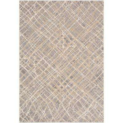 Ellanora Taupe 7 ft. x 10 ft. Area Rug