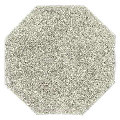 Foliage Sage 4 ft. x 4 ft. Octagon Area Rug