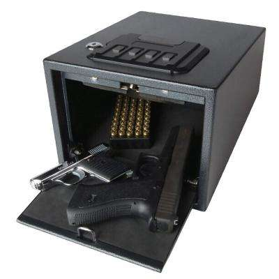 2-Gun Quick-Access Pistol Safe With Alarm