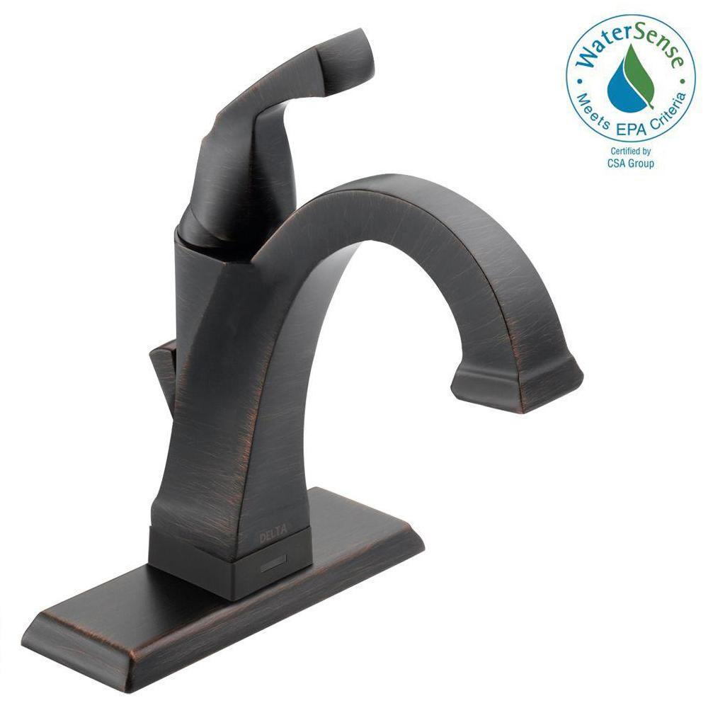 Delta dryden single hole single handle bathroom faucet with touch2o delta dryden single hole single handle bathroom faucet with touch2oxt technology in venetian publicscrutiny Choice Image