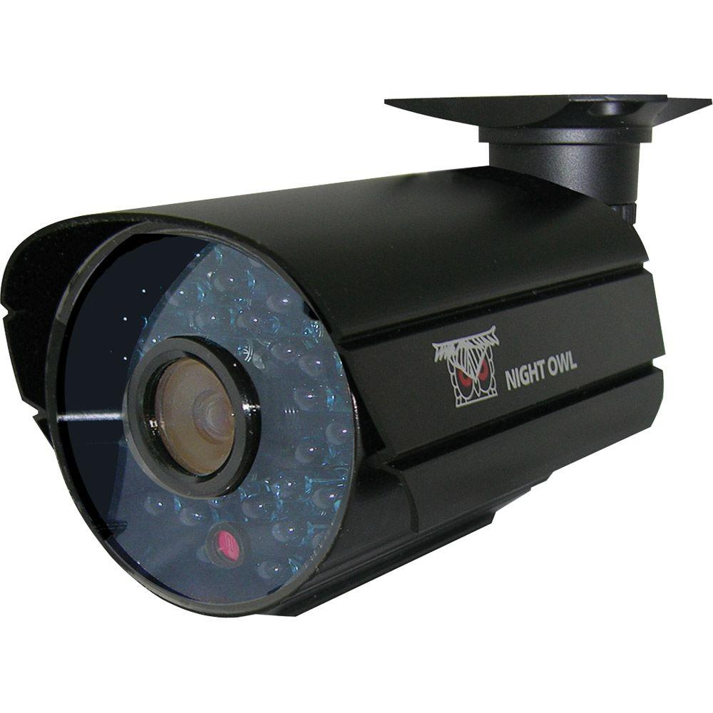 Night Owl Wired Indoor/Outdoor 600 TVL Hi-Resolution Security Camera with 36 Cobalt Blue LEDs