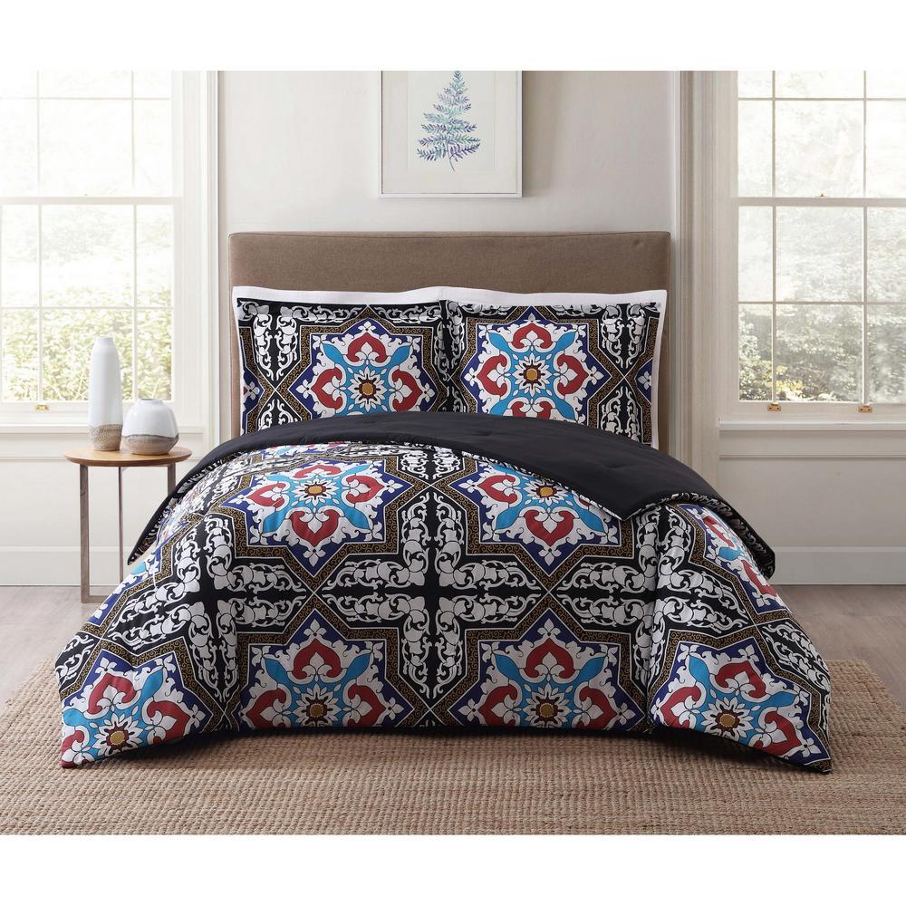 Sheffield Blue King Comforter Set
