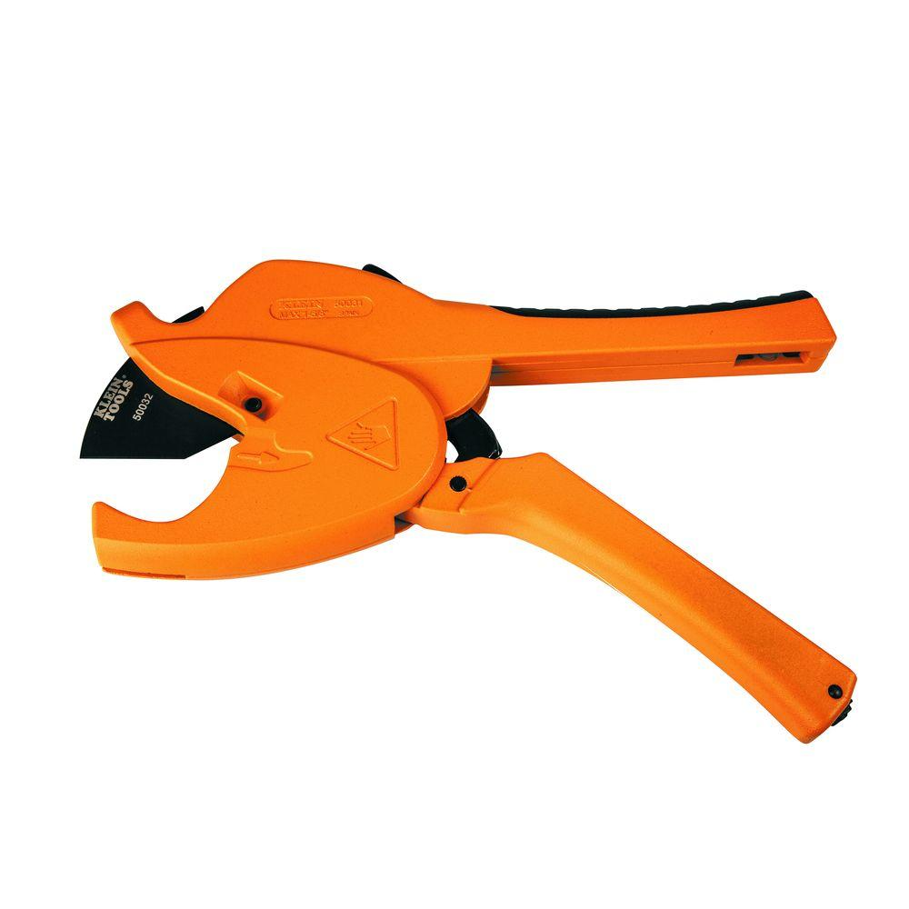 KleinTools Klein Tools 9-1/2 in. ratcheting PVC Cutter