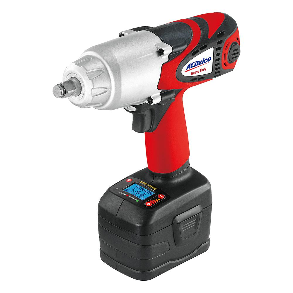 ACDelco Li-ion 18-Volt 1/2 in. Super-Torque Impact Wrench...