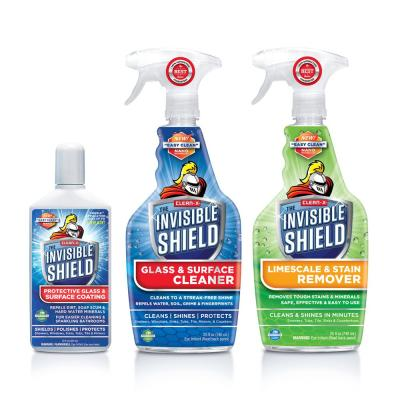 Invisible Shield Shower and Wall Tile Glass Essentials by Clean-X