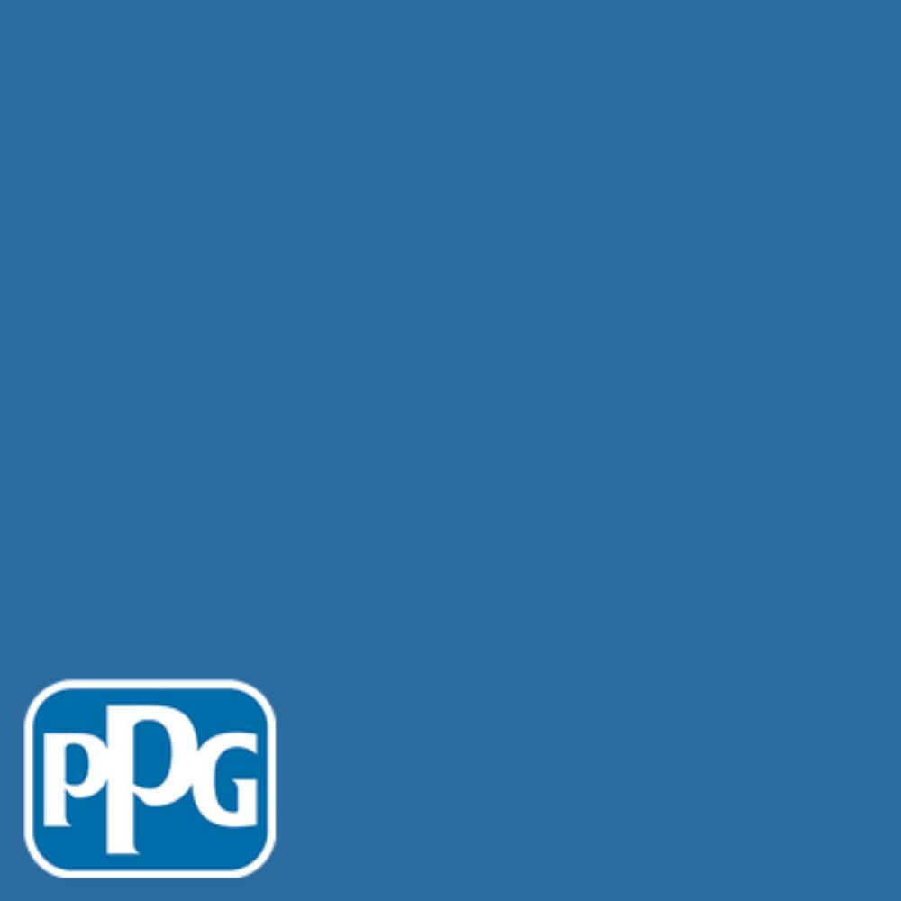 Ppg Timeless 1 Gal Hdppgv14 Bright Cornflower Blue Semi Gloss Interior One Coat Paint With Primer