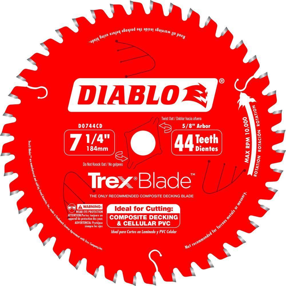 """10 PACK D0724DA Diablo 7-1//4/"""" 24T Demo Demon Framing /& Demolition Saw Blade"""