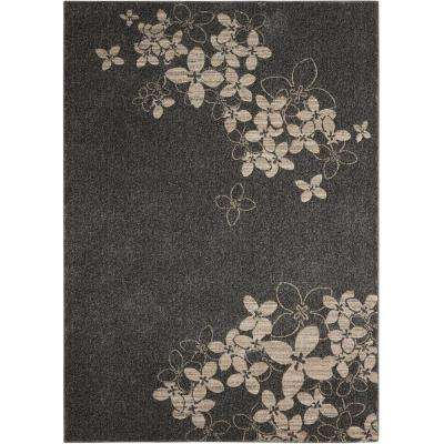 Maxell Charcoal 5 ft. x 7 ft. Area Rug