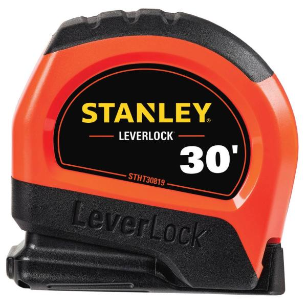 30 ft. LeverLock High Visibility Tape Measure
