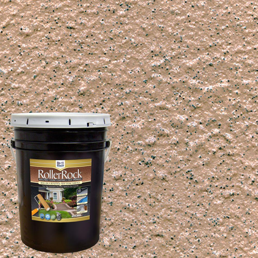 DAICH RollerRock 5 Gal. Self-Priming Ginger Exterior Concrete Coating