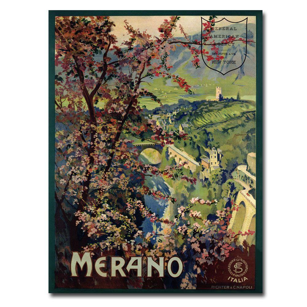 Trademark Fine Art 22 in. x 32 in. Merano 1926 Canvas Art