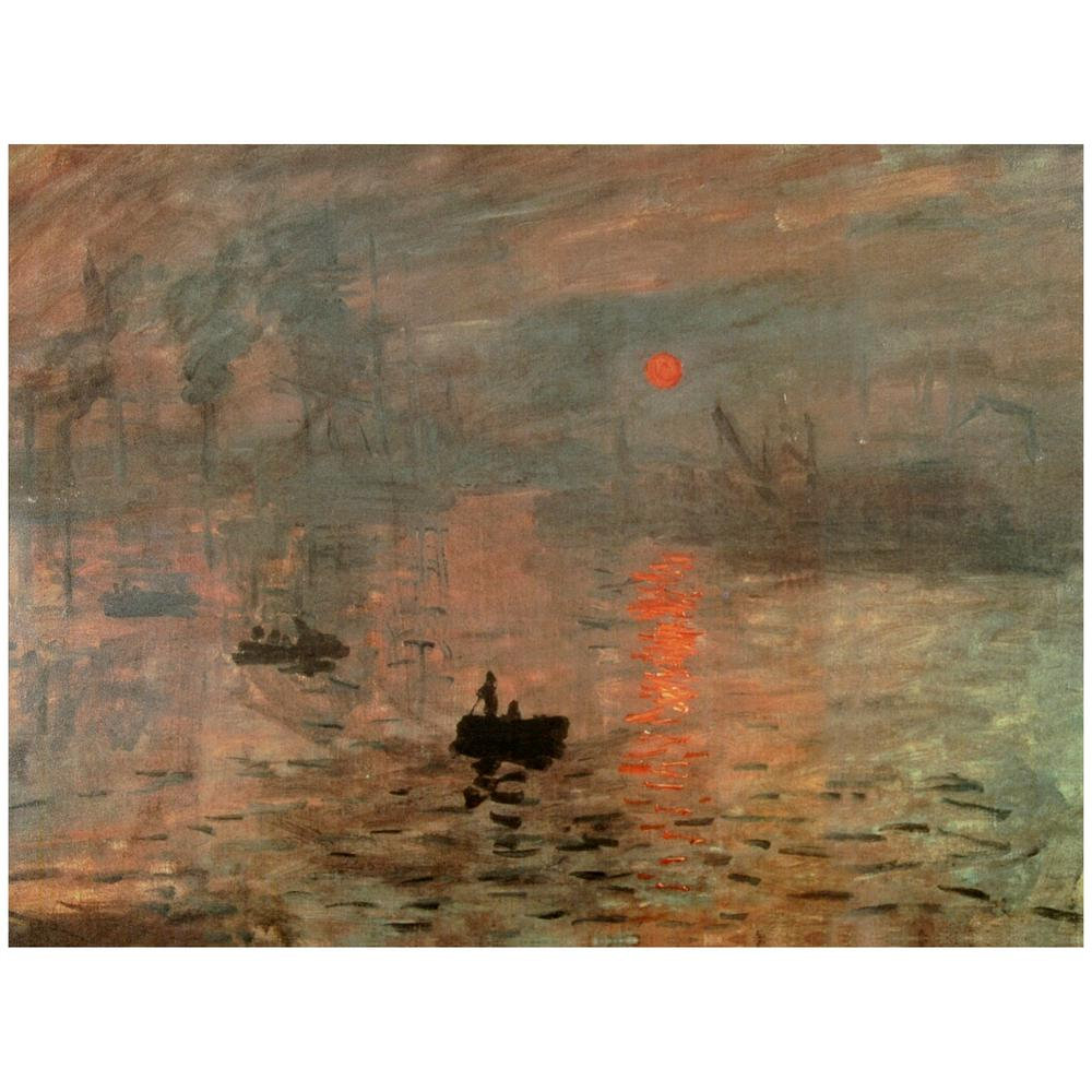 Oriental Furniture 24 in. x 32 in. Impression Sunrise Canvas Wall Art, Multi was $39.0 now $25.16 (35.0% off)