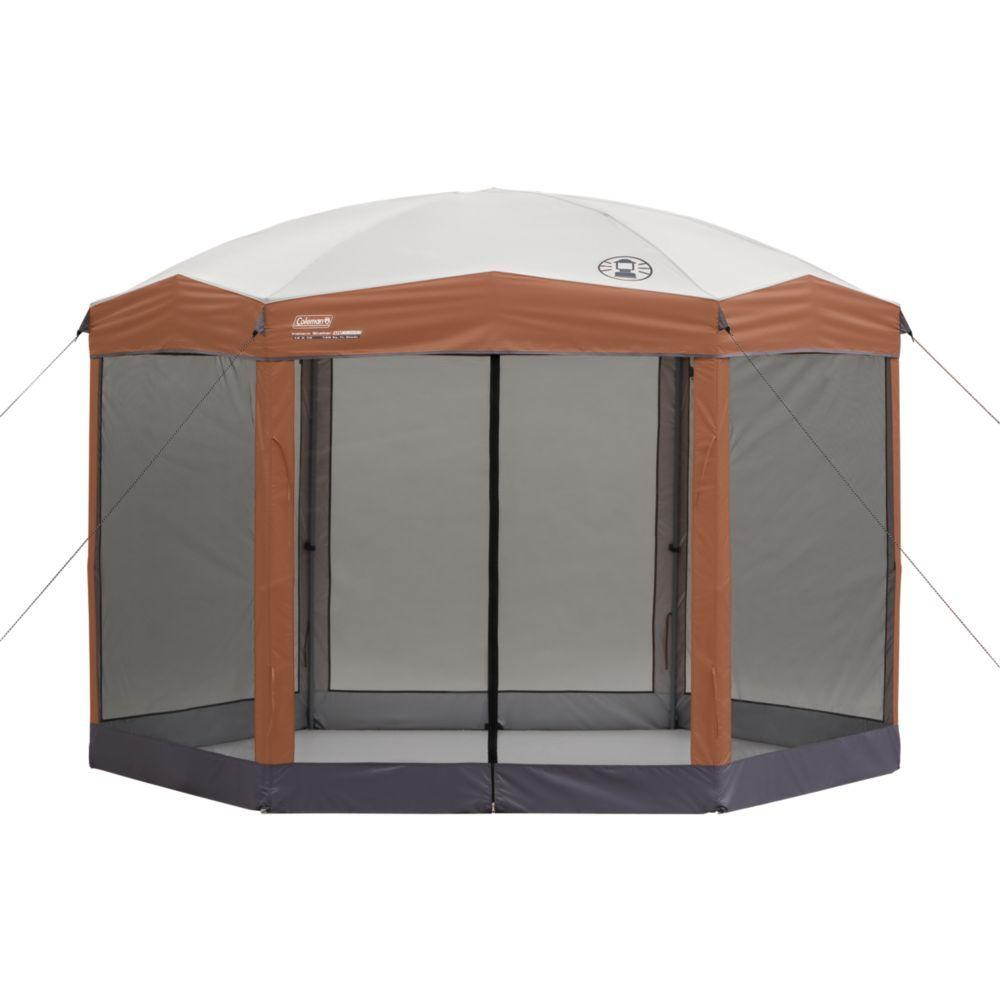Coleman 12 ft. x 10 ft. Backhome Screened Shelter
