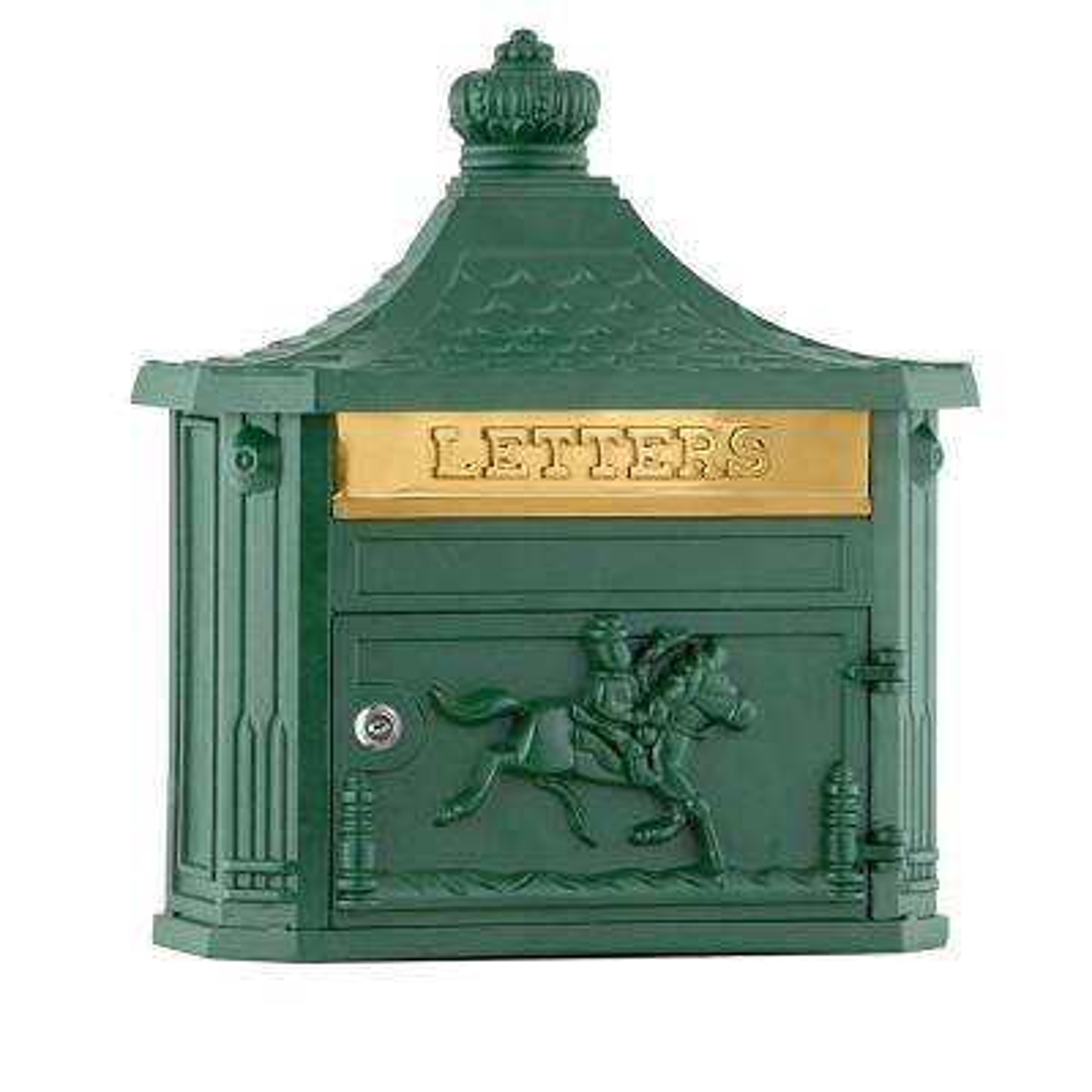 4400 Series Green Victorian Mailbox