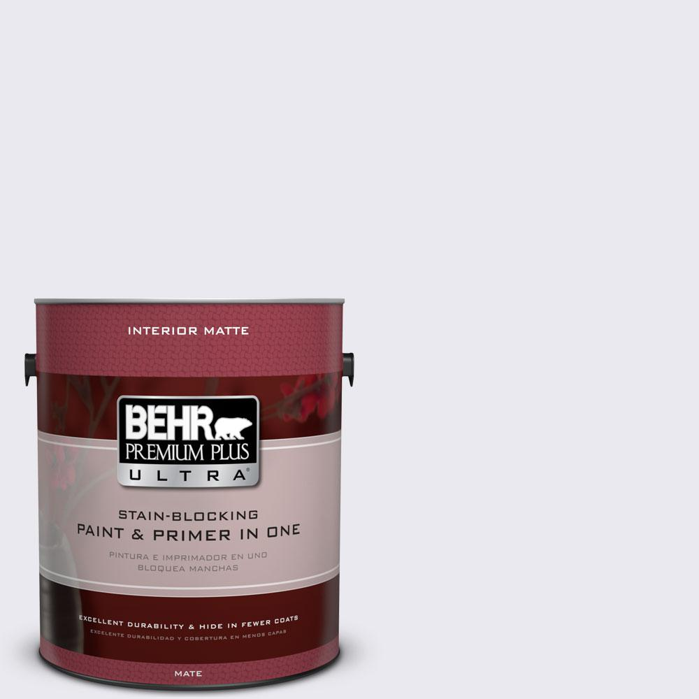 1 gal. #640E-1 Silver Chalice Flat/Matte Interior Paint