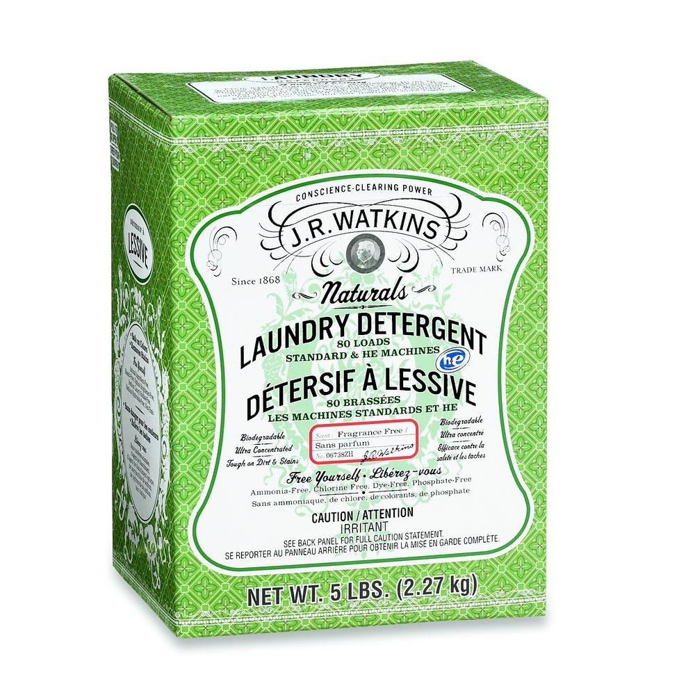 5 lbs. Fragrance-Free Powdered Laundry Detergent