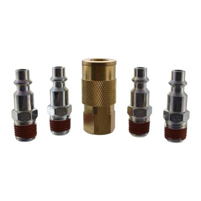 5-Piece 1/4 in. Industrial Coupler Kit